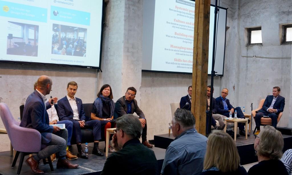 Design Driven Society panel discussion. Photo Zagros Hatami